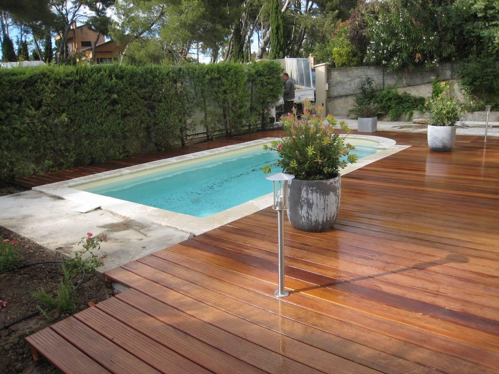 Terrasse En Bois Exotique pose d'une terrasse en bois exotique sur dalle de béton